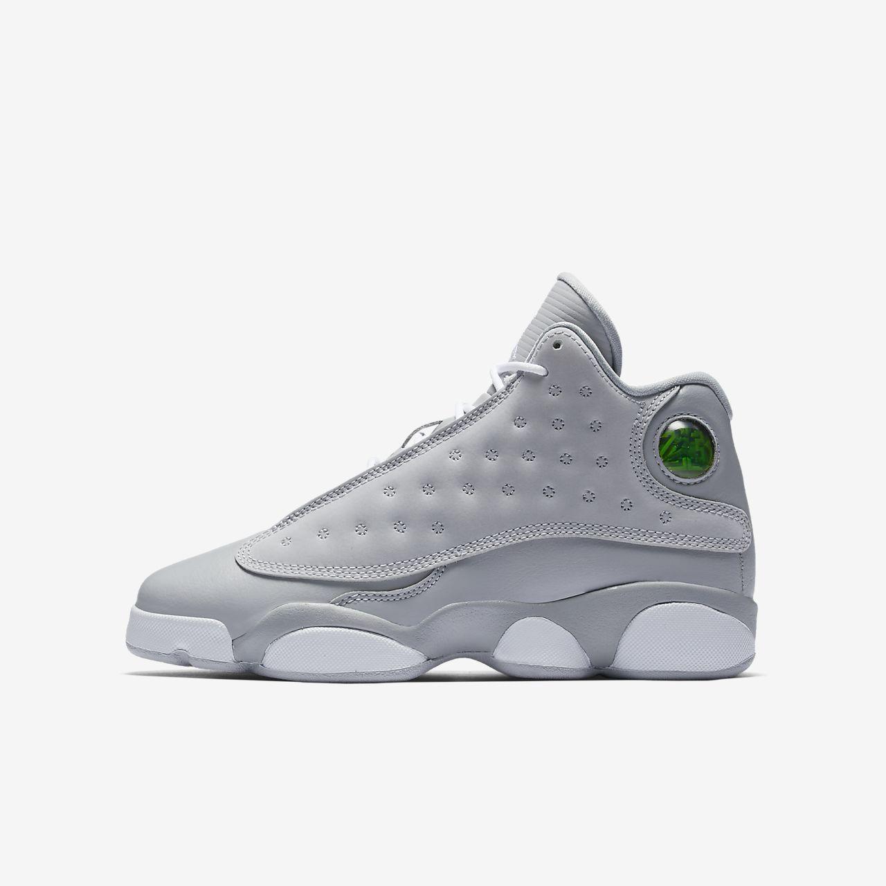 big kids jordan 13 retro sneakers