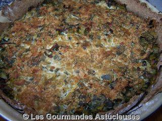 Les Gourmandes Astucieuses (Cuisine végétarienne): Pâte brisée au Tahin et à la farine complète