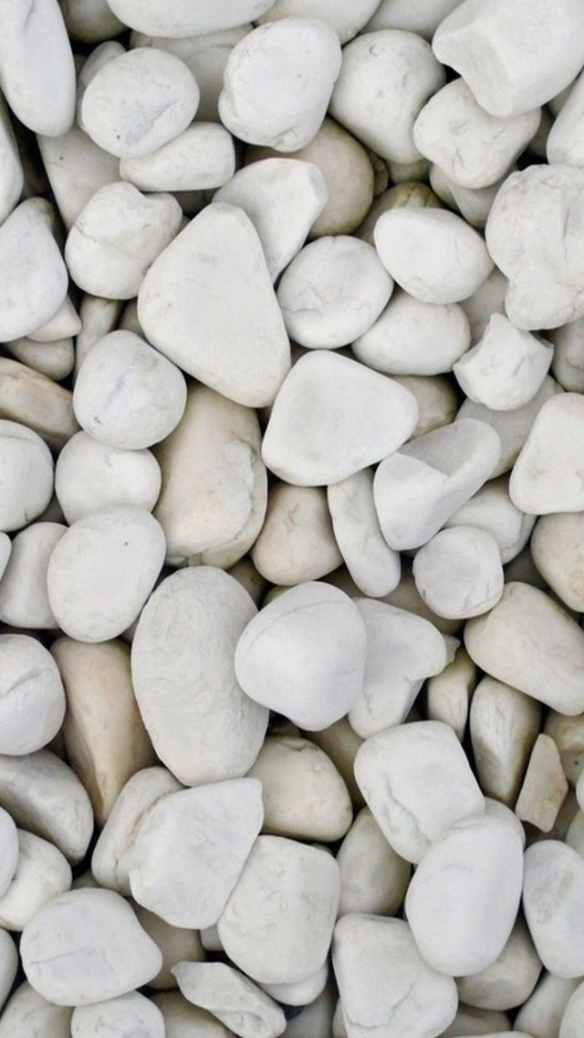 Beach White Pebble Rock Clitter Background IPhone 5s Wallpaper
