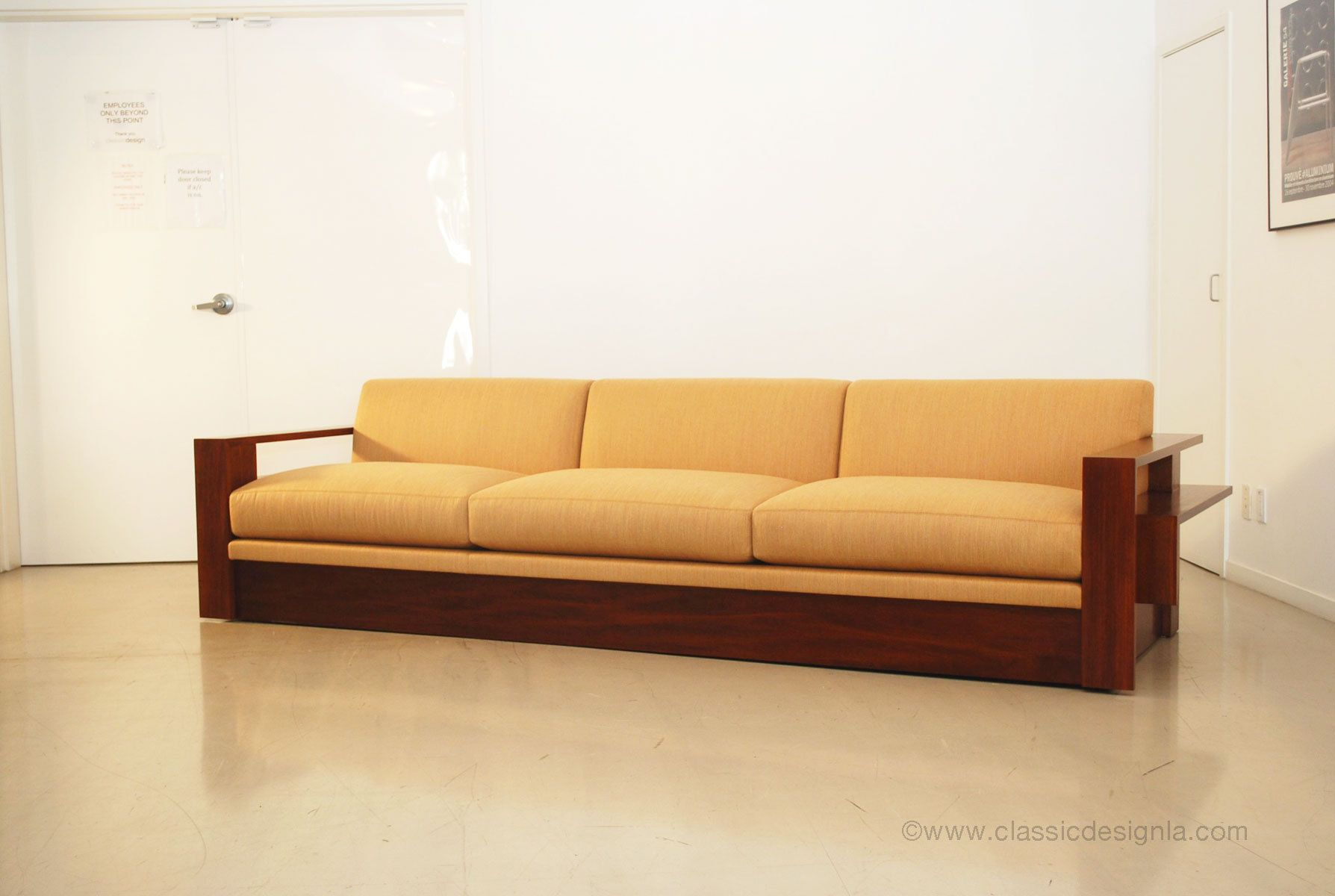 Custom wood frame sofa google search wood frame sofas for Unique sofa designs