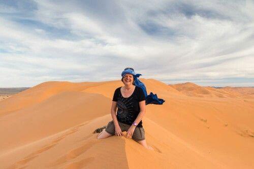 Heike in Marokko 2015