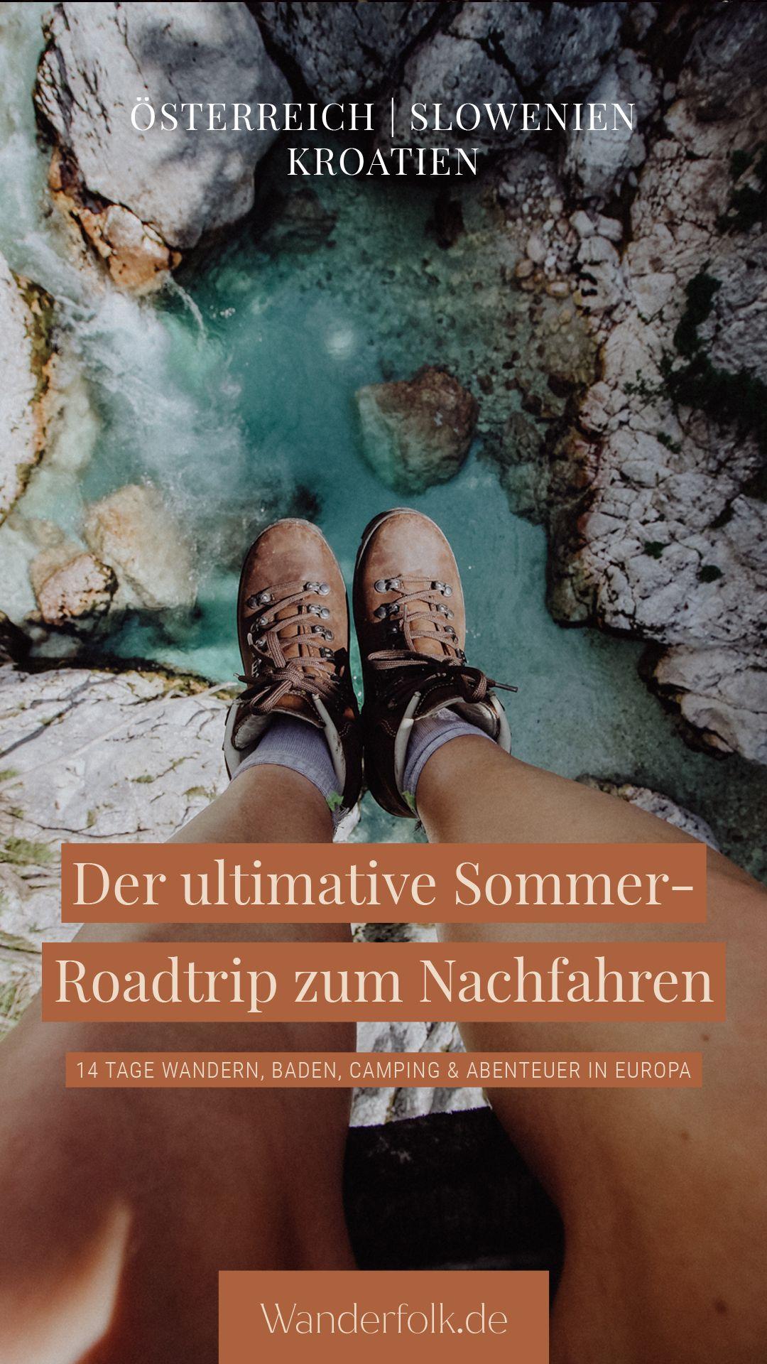 Der ultimative Sommer-Roadtrip in Europa zum Nachfahren