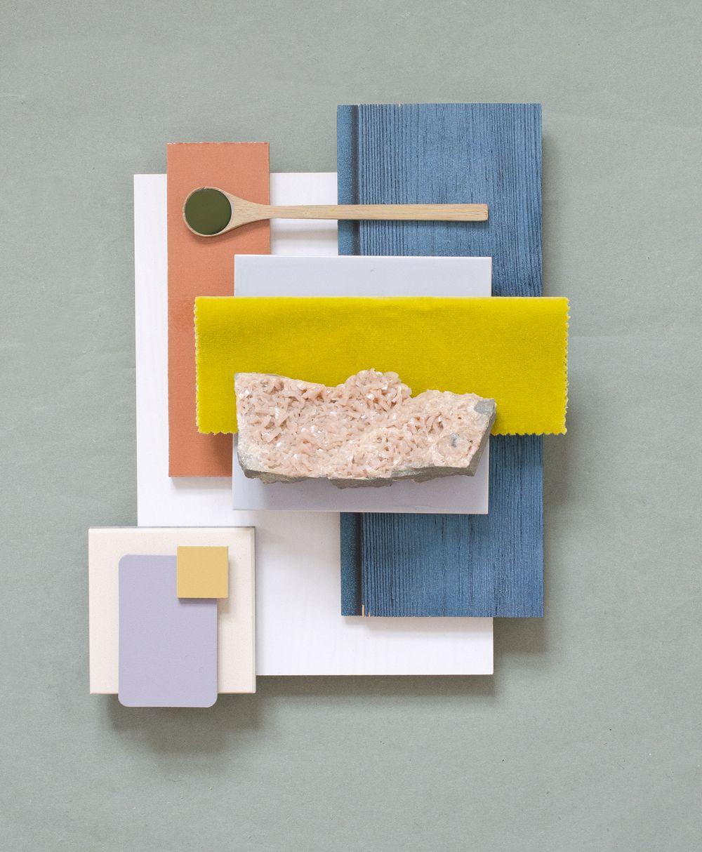 Come nasce un progetto moodboard colori e materiali for Combinazioni colori arredamento