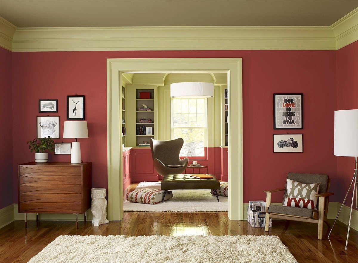 2015 Color of the Year ~ Guilford Green | Pinterest | Bright walls ...