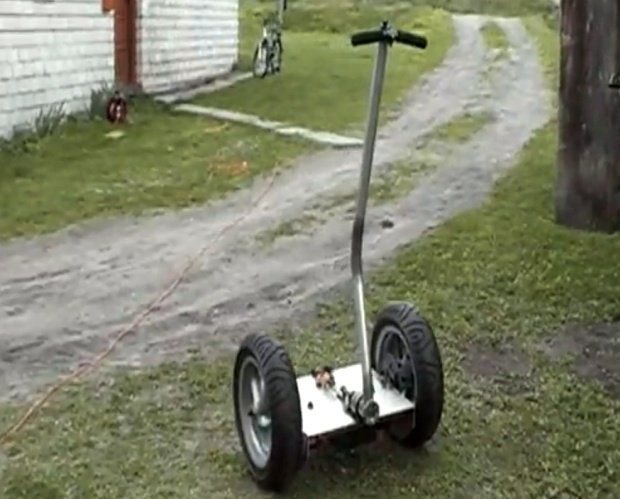 segway projects This instructable is intended to share my hobbyist project: a self-balancing  personal transportation (sbpt), also known as homemade segway it is an.