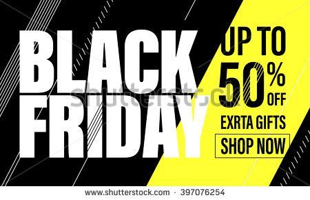 Black Friday Sale Banner Black Friday poster Vector illustration Black Friday Sale Banner Black Friday poster Vector illustration