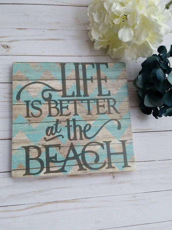Life is better at the beach sign beach decor beach living beach life is better at the beach sign beach decor beach living diyhomedecorsummer publicscrutiny Choice Image