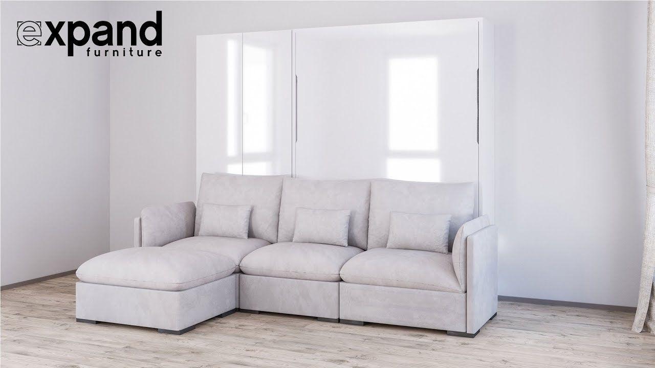 Best Murphysofa Adagio Luxury Wall Bed Sofa System Youtube 400 x 300