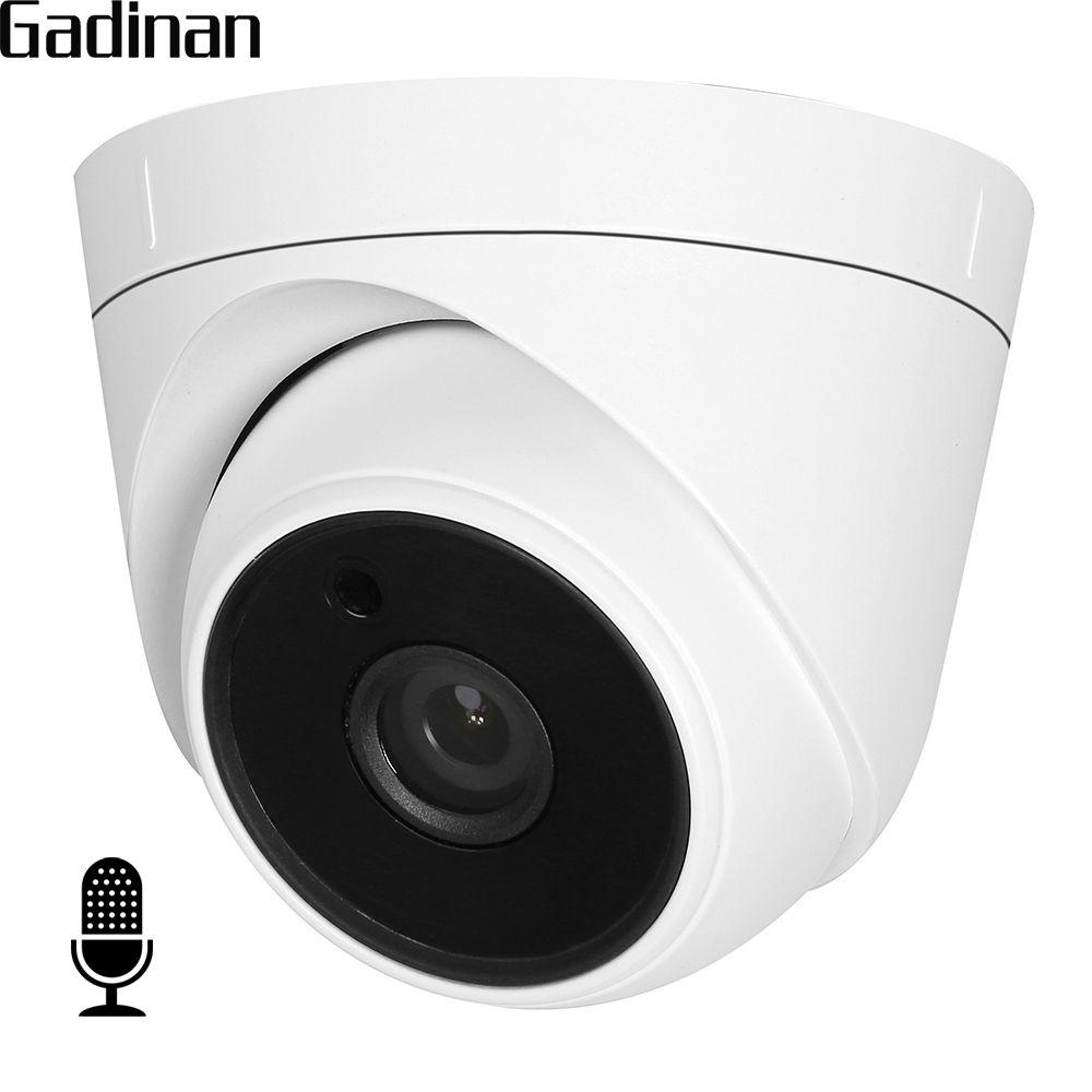 Gadinan内部オーディオipカメラ720 P 960 P Hi3518ev200屋内ドーム監視