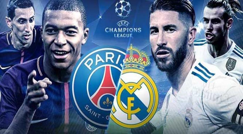 ملخص مباراة باريس سان جيرمان وريال مدريد فى دورى أبطال أوروبا بالفيديو Real Madrid Champions League Champions League Real Madrid