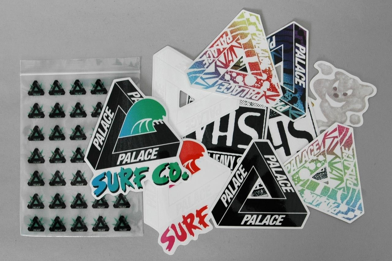 9bb06311349c Palace - 10 Spot - Sticker Pack