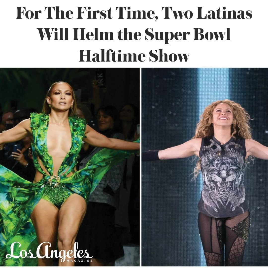 Time To Hit The Floor With Jlo And Shakira The Two Super Stars Will Be Taking The Stage At The Superbowl Liv Halftime Show Shakira Performance Outfit Jlo