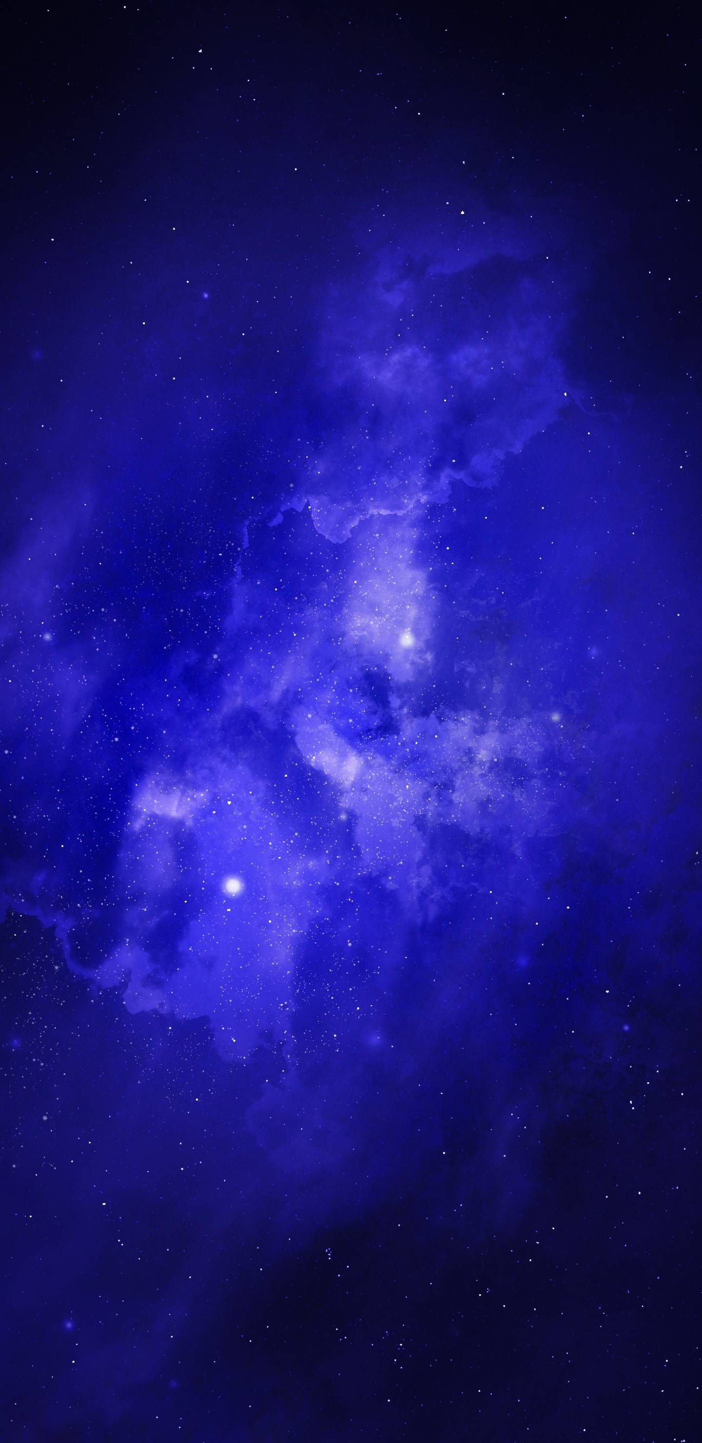 Blue Galaxy Galaxy Wallpaper Wallpaper Trendy Wall Decor