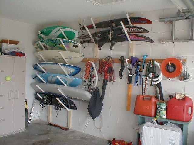 Delightful Wakeboard Storage Racks For Garage   Gonna Make These