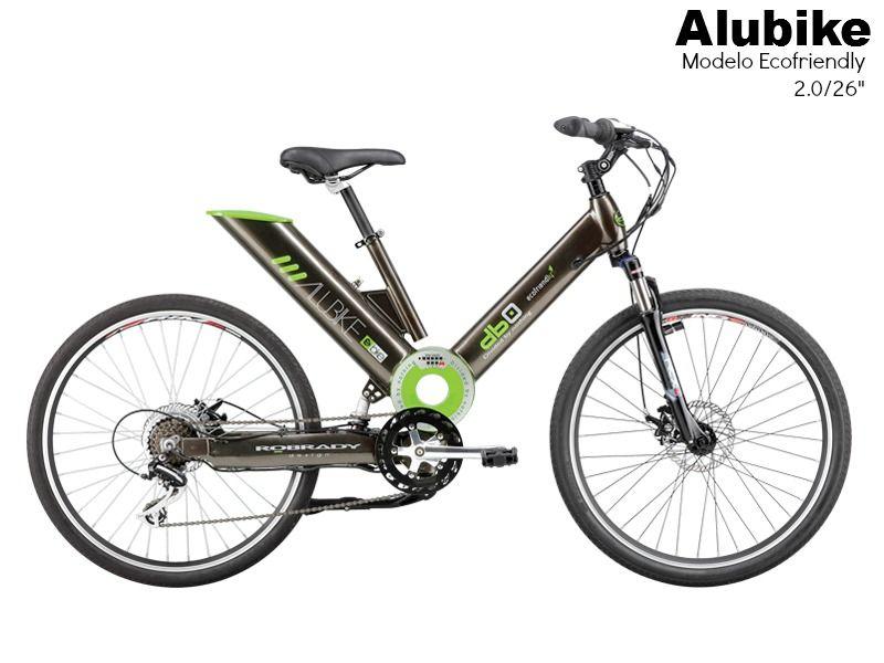 Bicicleta Alubike Bicicleta urbana de pedaleo asistido