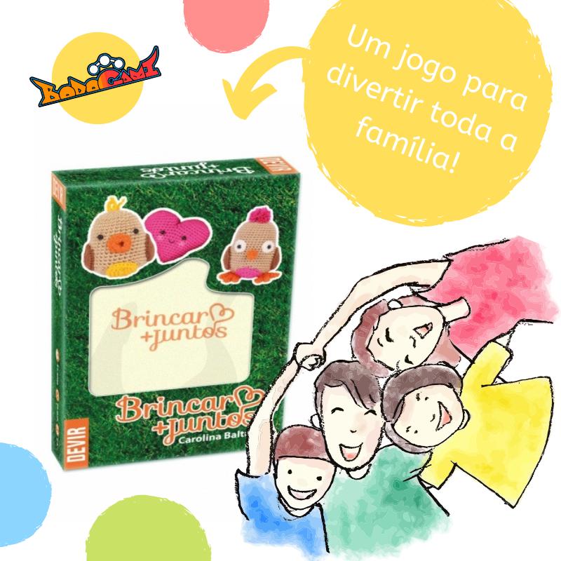 Um Jogo Para Reunir Toda A Familia Crie Momentos Especiais Nesse Jogo Para Pais E Filhos Um Jogo Divertido Que Fortalece Jogos Divertidos Para Pai Divertido