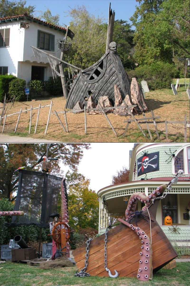 20+ Pallet Wood Halloween Decoration Ideas | Pallet ...