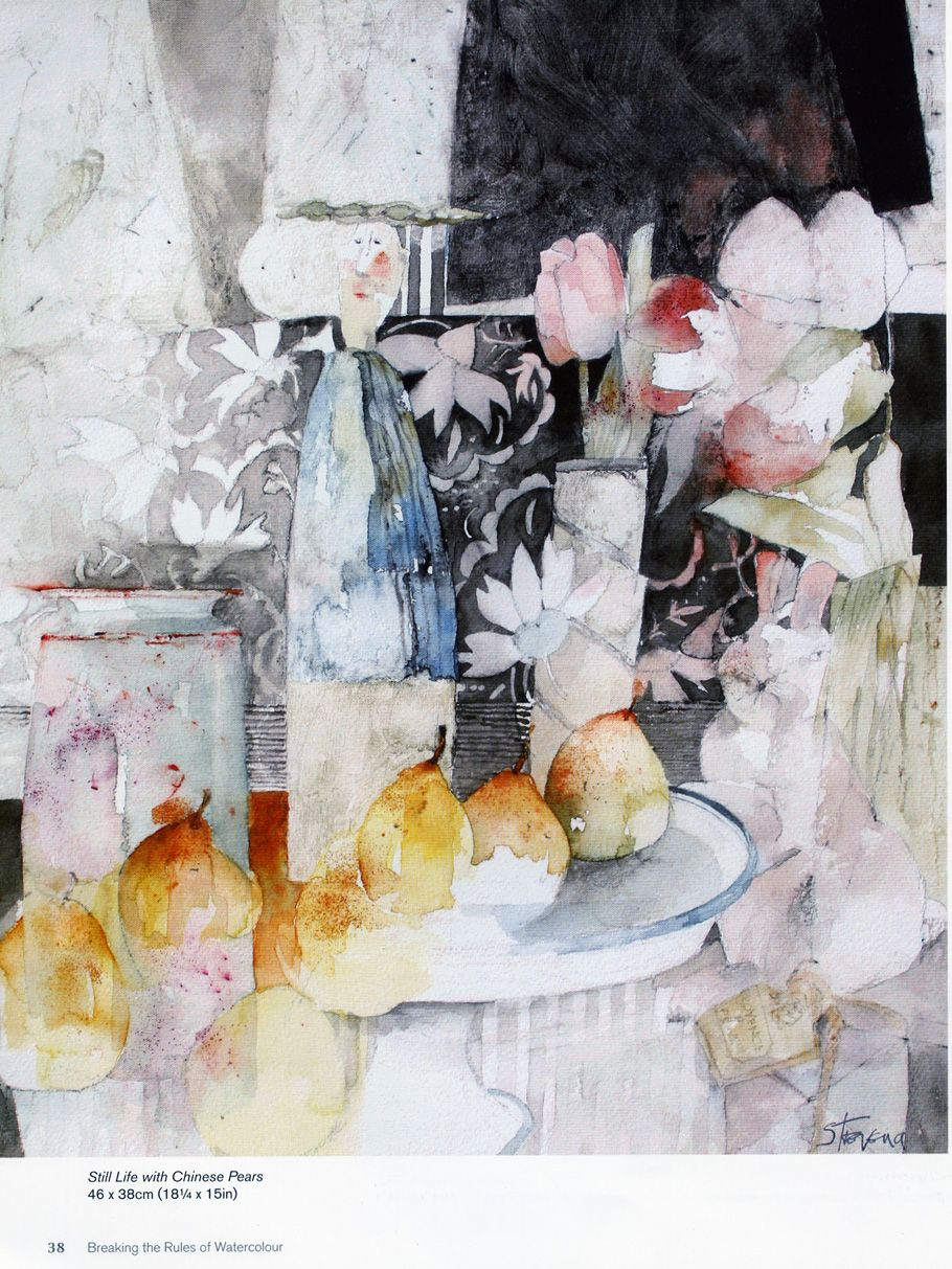 Shirley Trevena Knowing What To Leave Unpainted Shirley