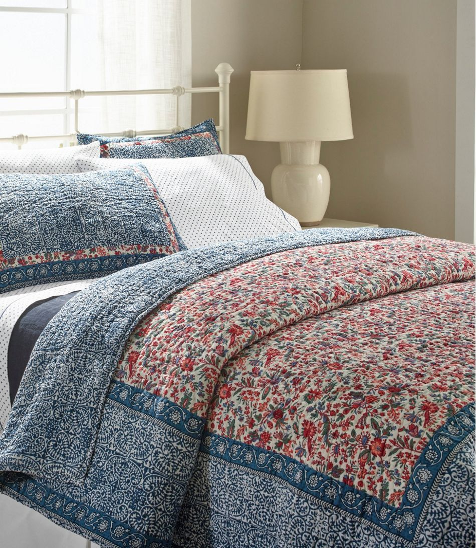Border Floral Quilt Collection Bed Linens Luxury Bedding Sets Bedroom Quilts