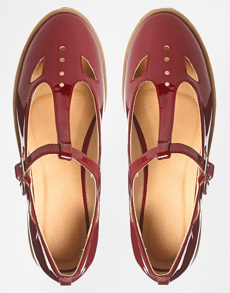 a241642f4ba2 Image 3 of ASOS MOLLY T-Bar Flat Shoes T Bar Flat Shoes