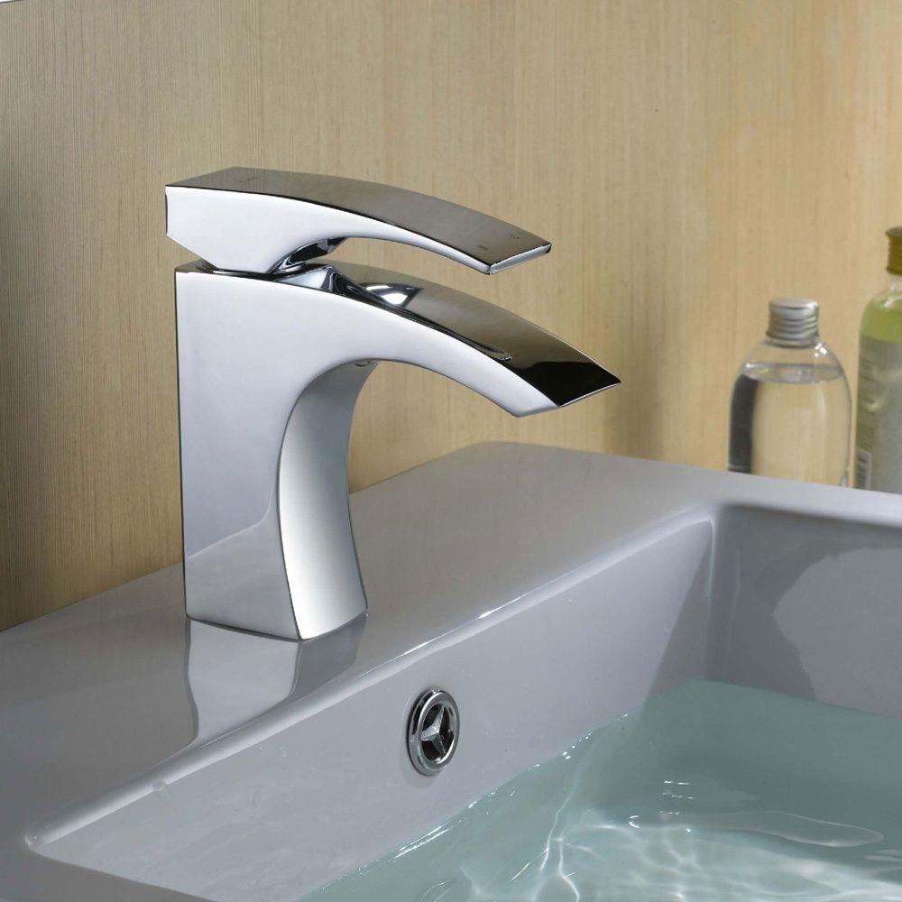 CAE Centerset Chrome Finish Bathroom Sink Faucet | Overstock ...
