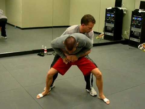 Krav Maga: defense for bear hug from behind arms free