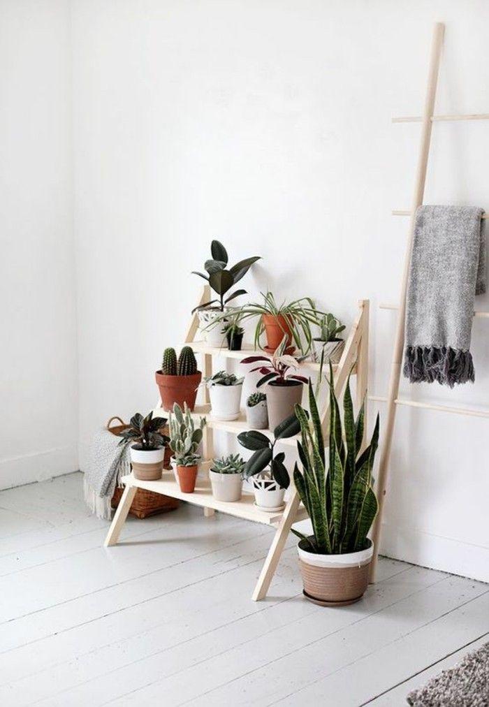 Deko Selber Machen Blumentreppe Bauen Für Den Innenbereich