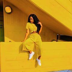 bts 8th member ambw  yellow outfit yellow fashion