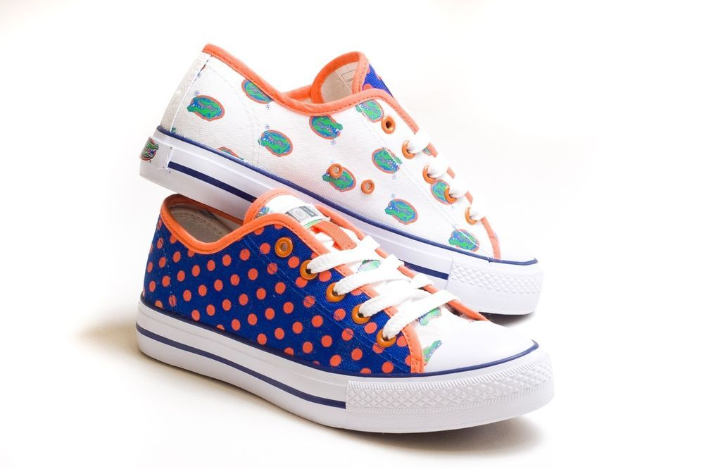 a51eb059e BRAND NEW Women s UF Florida Gators Sneakers   Tennis shoes size 8 ...