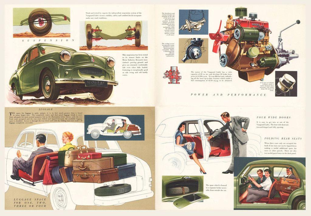 1954 Vanguard Cadet Sales Brochure I OldBrochures.com | Auto ...