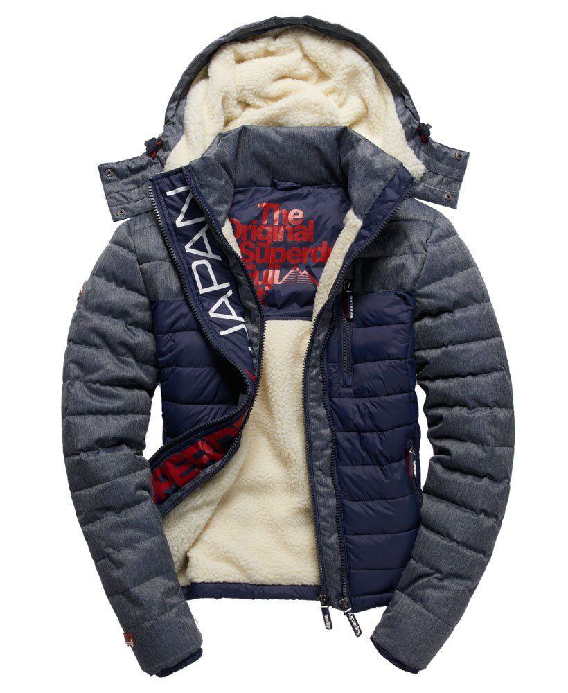 Superdry Fuji Mix Double Zip Hooded Jacket | Ropa de hombre