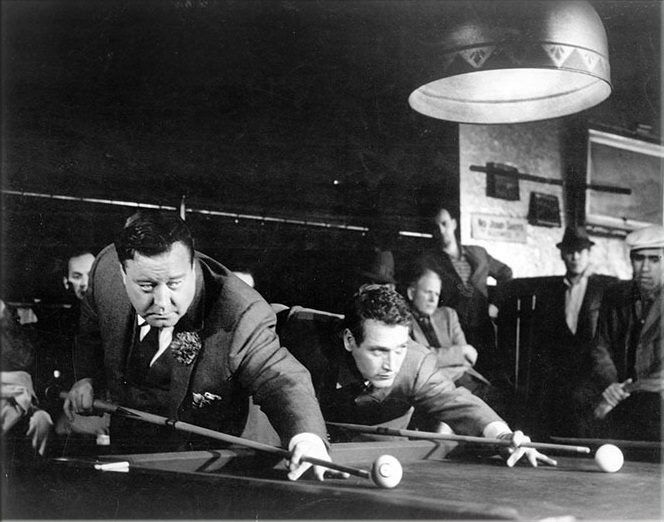 Pool cue used in the hustler picture 543