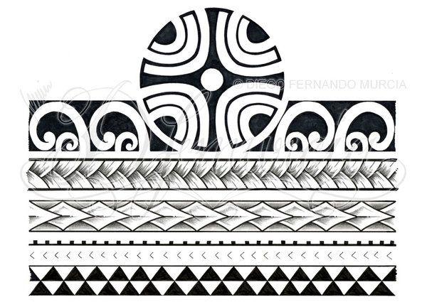 Polynesian 3/4 sleeve 02-D by dfmurcia on DeviantArt x Pinterest