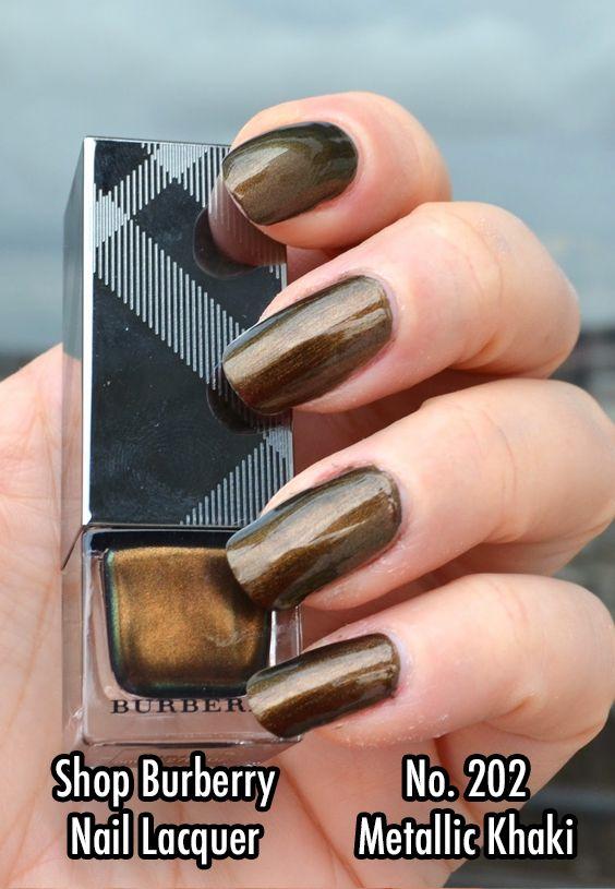 Burberry Beauty Nail Polish #Burberry #NailPolish #Affiliate #Nails ...