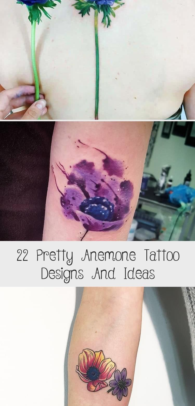 Anemone Tattoo By Jennifersterrytattoo Geometrictattoosfamily Geometrictattoossymbols Floralgeometrictattoos Geometri In 2020 Anemone Tattoo Tattoo Designs Tattoos