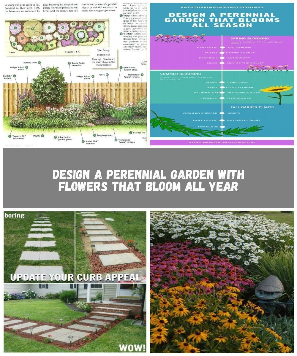 Photo of Elegant Flower Bed Plans Layout Perennial Gardens perrenial garden layout best f…