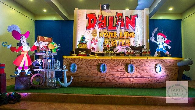 Dylan's Jake and the Never Land Pirates-Themed Party – 3rd Birthday - Party Doll…
