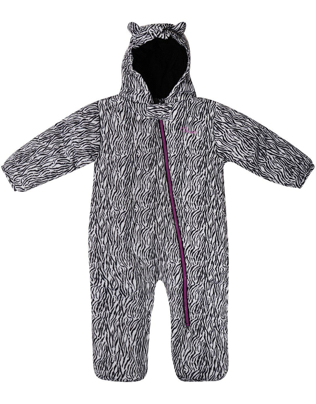 c659c430df29 Girls Break The Ice Snowsuit - Black White Zebra - 18 - 24 Months ...