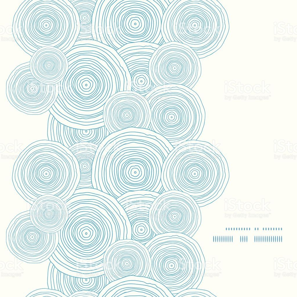 vector doodle circle water texture vertical frame seamless pattern... |  vector background pattern, geometric vector, seamless patterns  pinterest