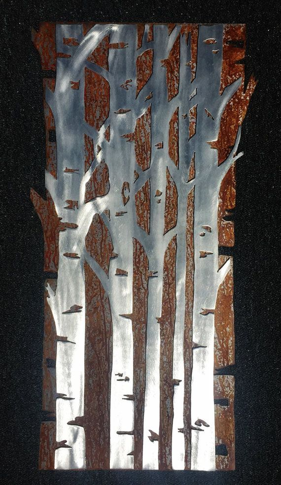 Hello And Thanks For Your Interest In My Aspen Tree Metal