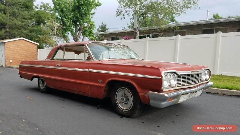 1964 Chevrolet Impala Chevrolet Impala Forsale Canada