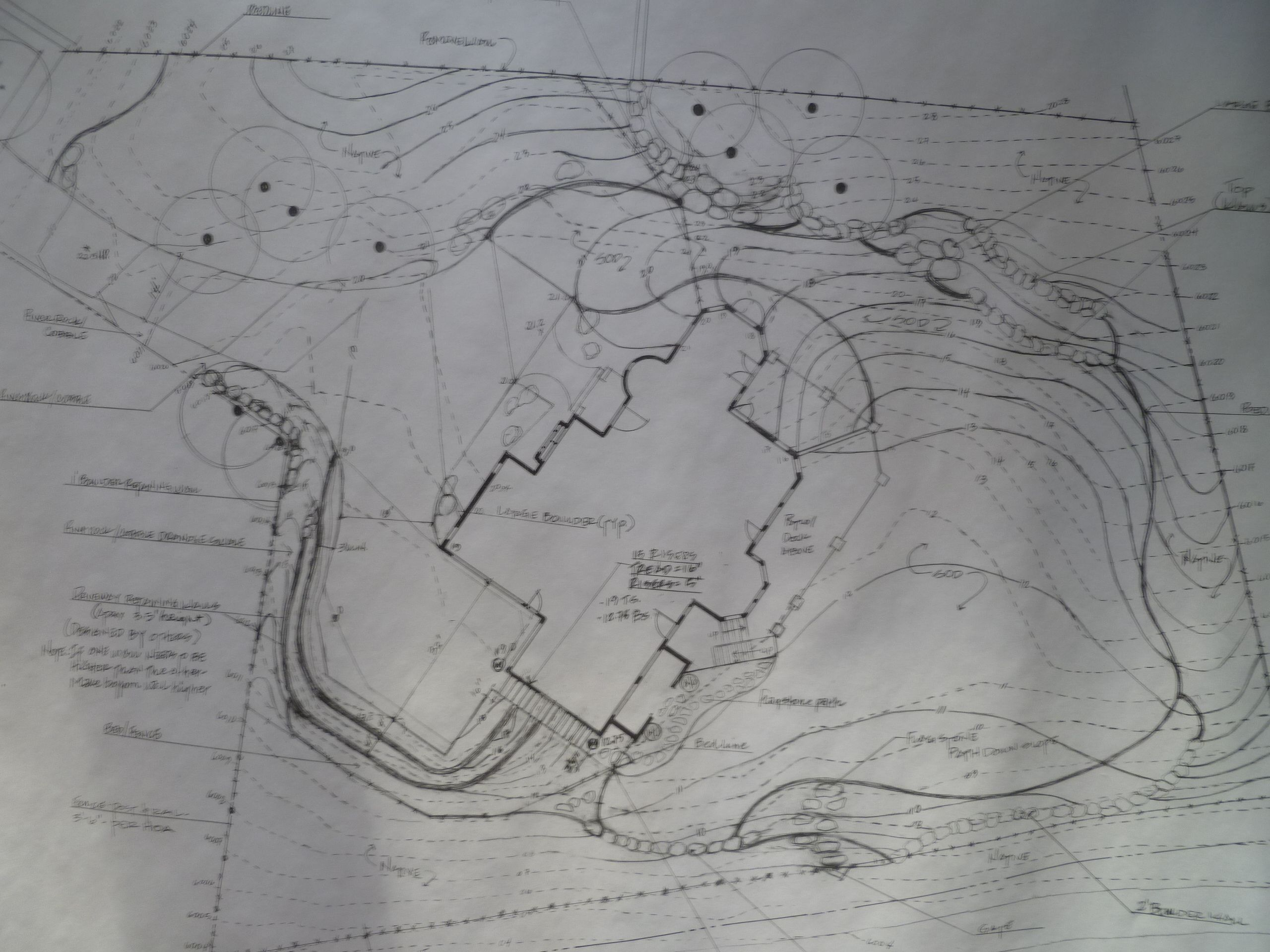 grading plan for new home