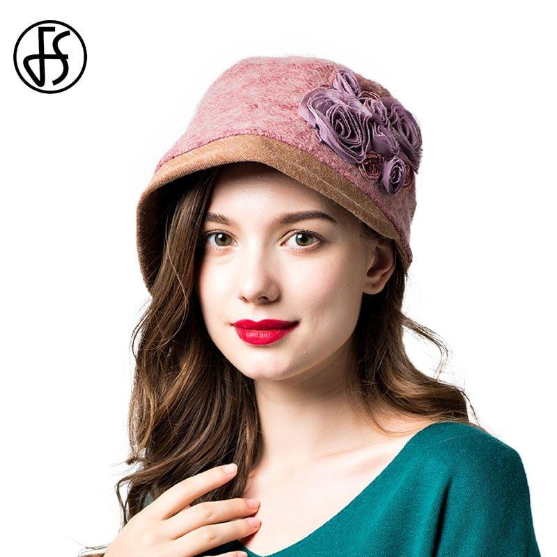 3a658701a89641 Fashion Colourful Women's solid Felt Bowler & Derby Woolen Fedora Hat Lady  Round Cap WHM316 | Products | Fedora hat, Fedora fashion, Hats