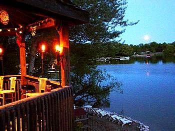 Elkhart Lake, Wisconsin. Taken at Barefoot Bay Tiki Bar at Victorian Village Resort.