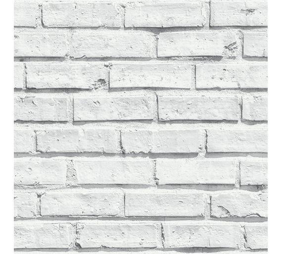 Buy Arthouse White Brick Wallpaper At Argos Co Uk Your Online Shop For Wallpaper Wallpaper White Brick Wallpaper Brick Effect Wallpaper Brick Wall Wallpaper