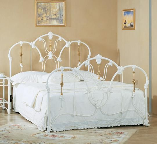 Pin By Terri Marion Leoni On Vintage White Iron Beds Wrought