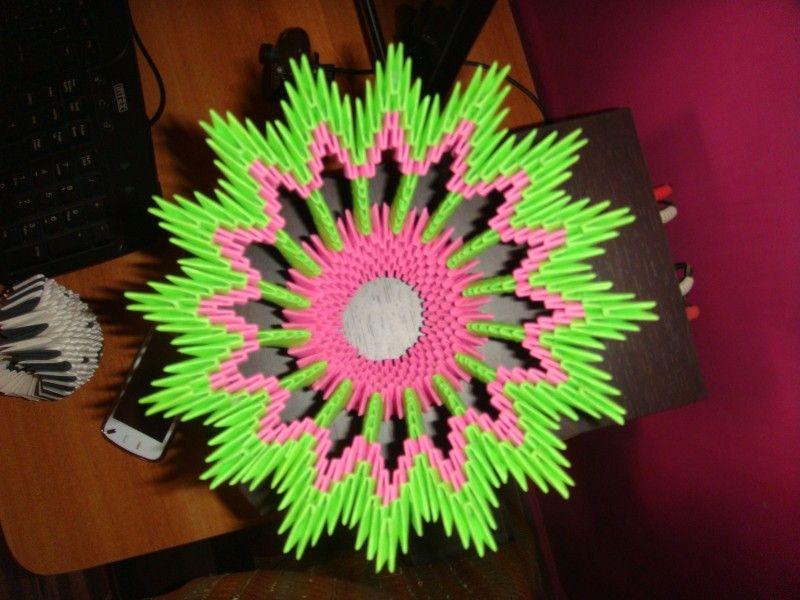 Trusha album flower vase from abo 3d origami art trusha album flower vase from abo 3d origami art mightylinksfo