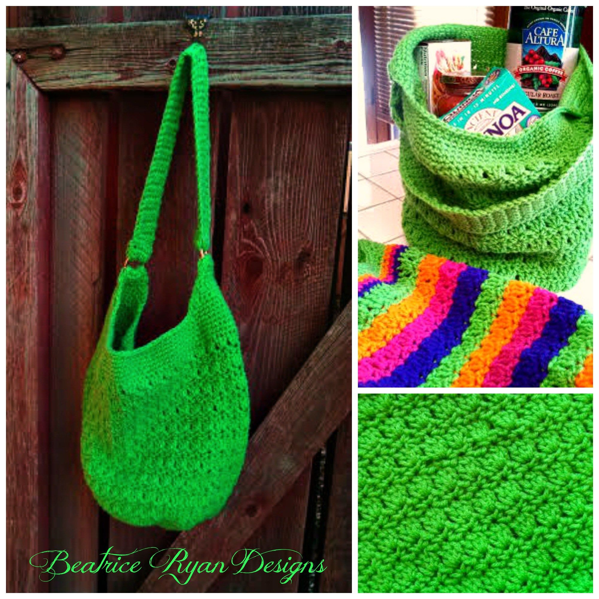 Amazing grace tote free pattern crochet purses and baskets amazing grace tote free crochet pattern from beatrice ryan designs bankloansurffo Image collections