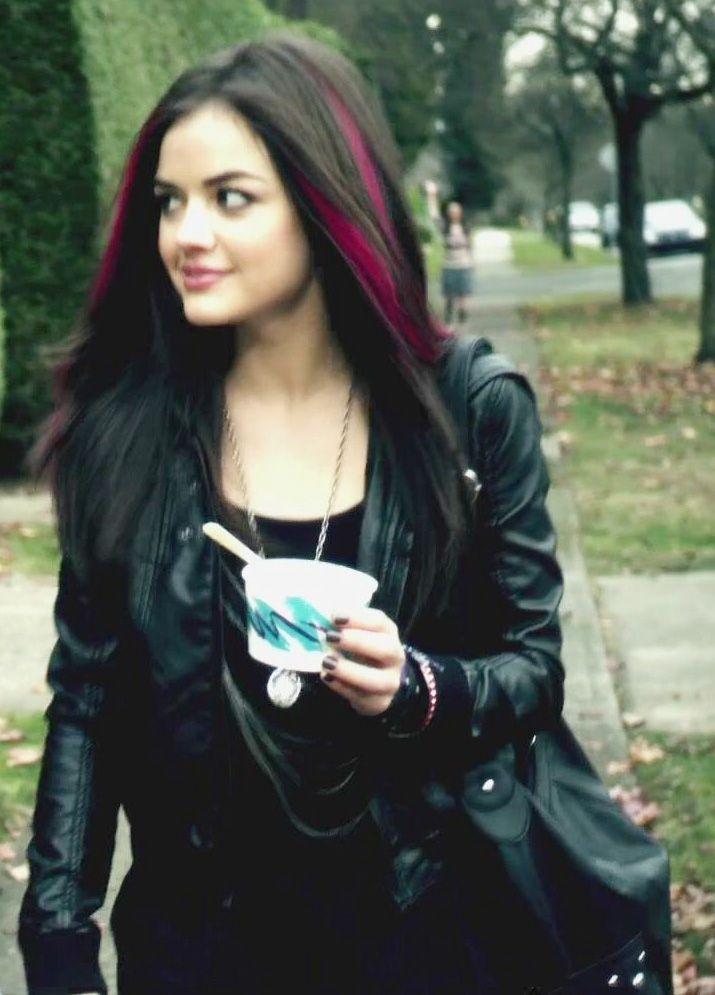 aria. loved pink hair