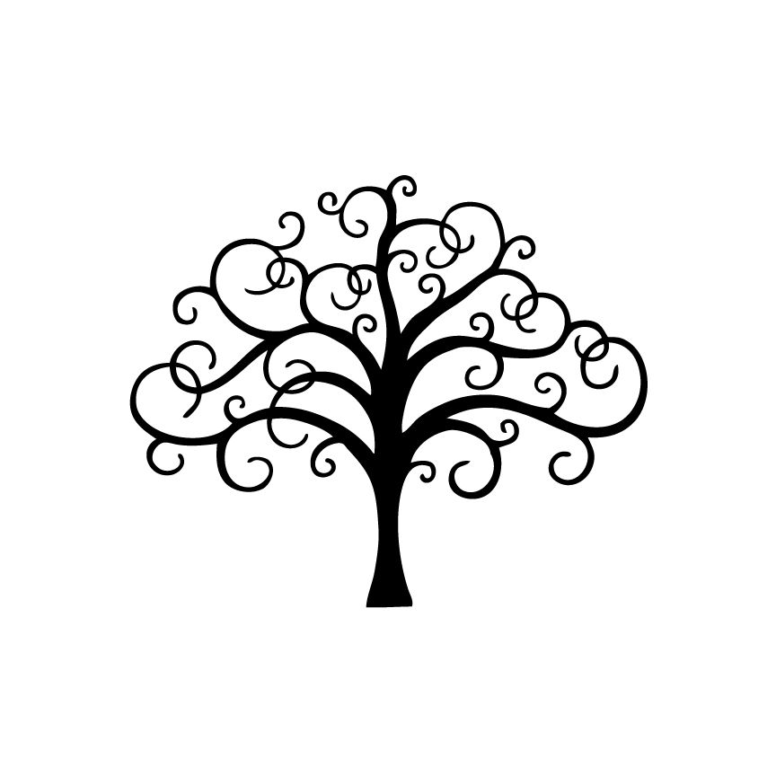 Filigree Tree Decal A Cherry Or Two Acherryortwo Com
